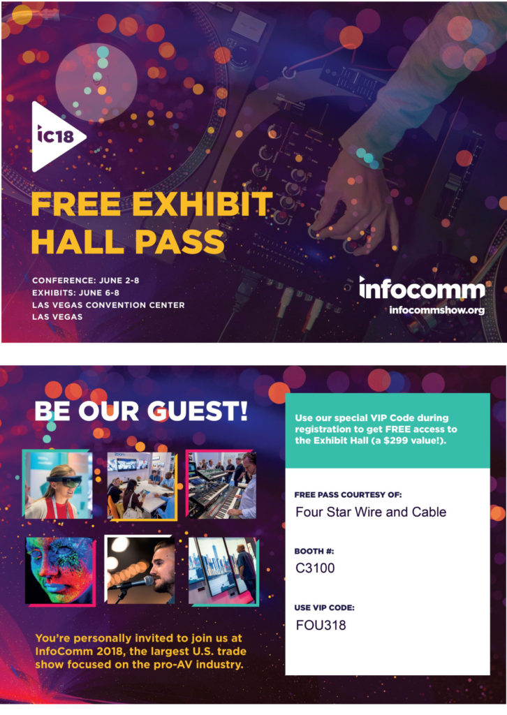 InfoComm  Booth C3100