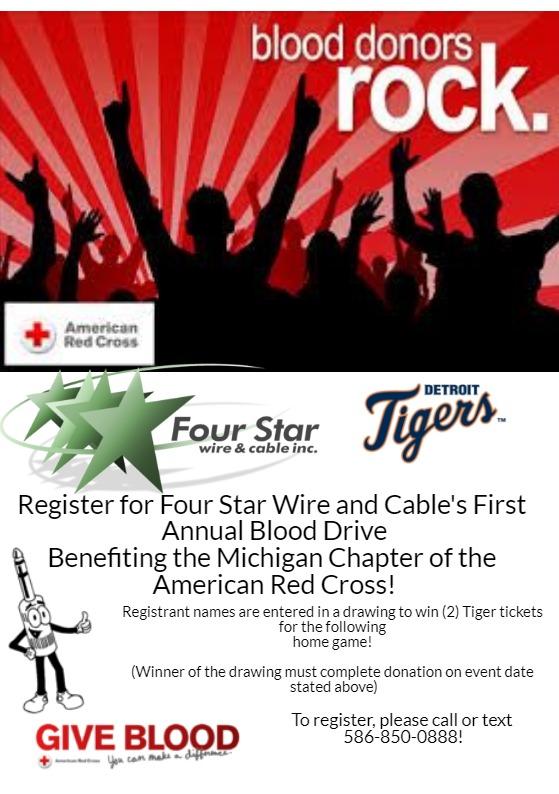 Michigan American Red Cross Blood Drive – MyStarSound